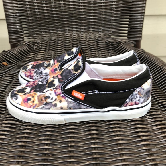 c05bab05db3e47 Van s SPCA boys slip on sneakers with dog print. M 5b63411525457a8790855f07